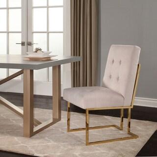 Abbyson Fraser Velvet Dining Chair
