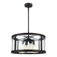 Feiss Harrow 4 Light Oil Rubbed Bronze Pendant