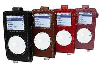 Amerileather Leather iPod Mini/Cell Phone Case