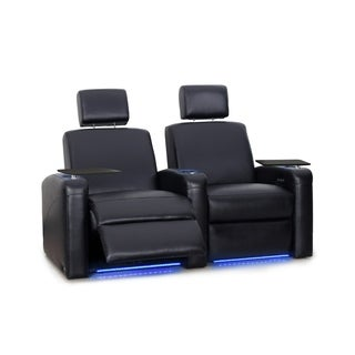 Octane Viper XL500 Power Leather Home Theater Seating Set (Row of 2)