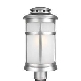 Feiss 1 - Light Post Lantern, Painted Brushed Steel