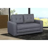 US Pride Furniture Daisy Fabric Loveseat and Sofa Bed