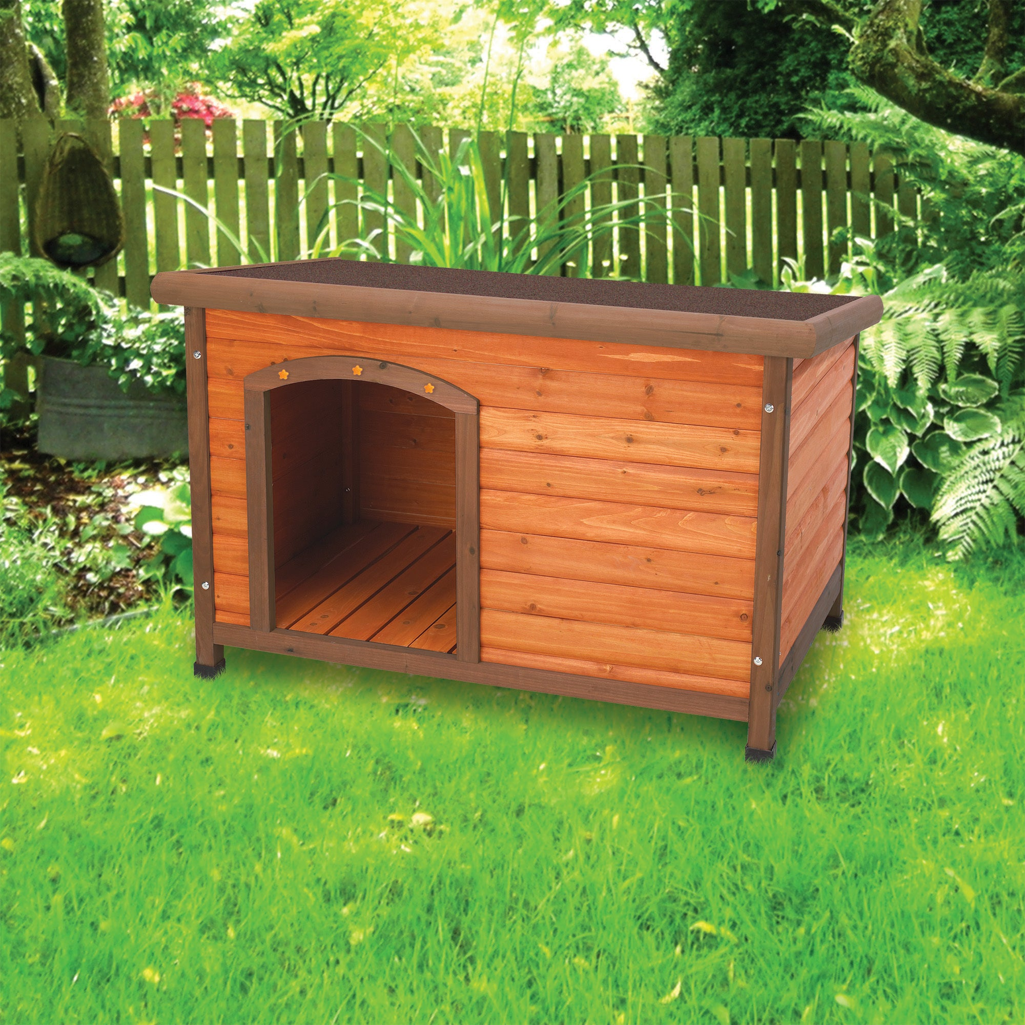 Ware Premium+ Dog house, Medium (Medium), Brown
