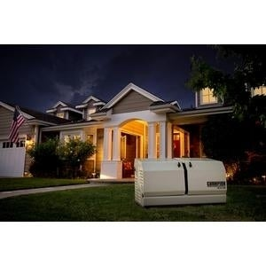 Champion 12.5-kW Home Standby Generator with 200-Amp Whol...