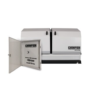 Champion 12.5-kW Home Standby Generator with 200-Amp Whole House Automatic Transfer Switch with Demand Control