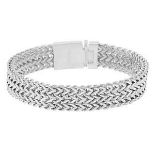 Steeltime Men's Stainless Steel Bracelet