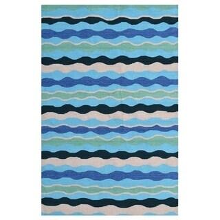 Tide Blue/ Area Rug