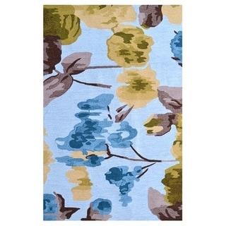 Hibiscus Ivory/ Area Rug