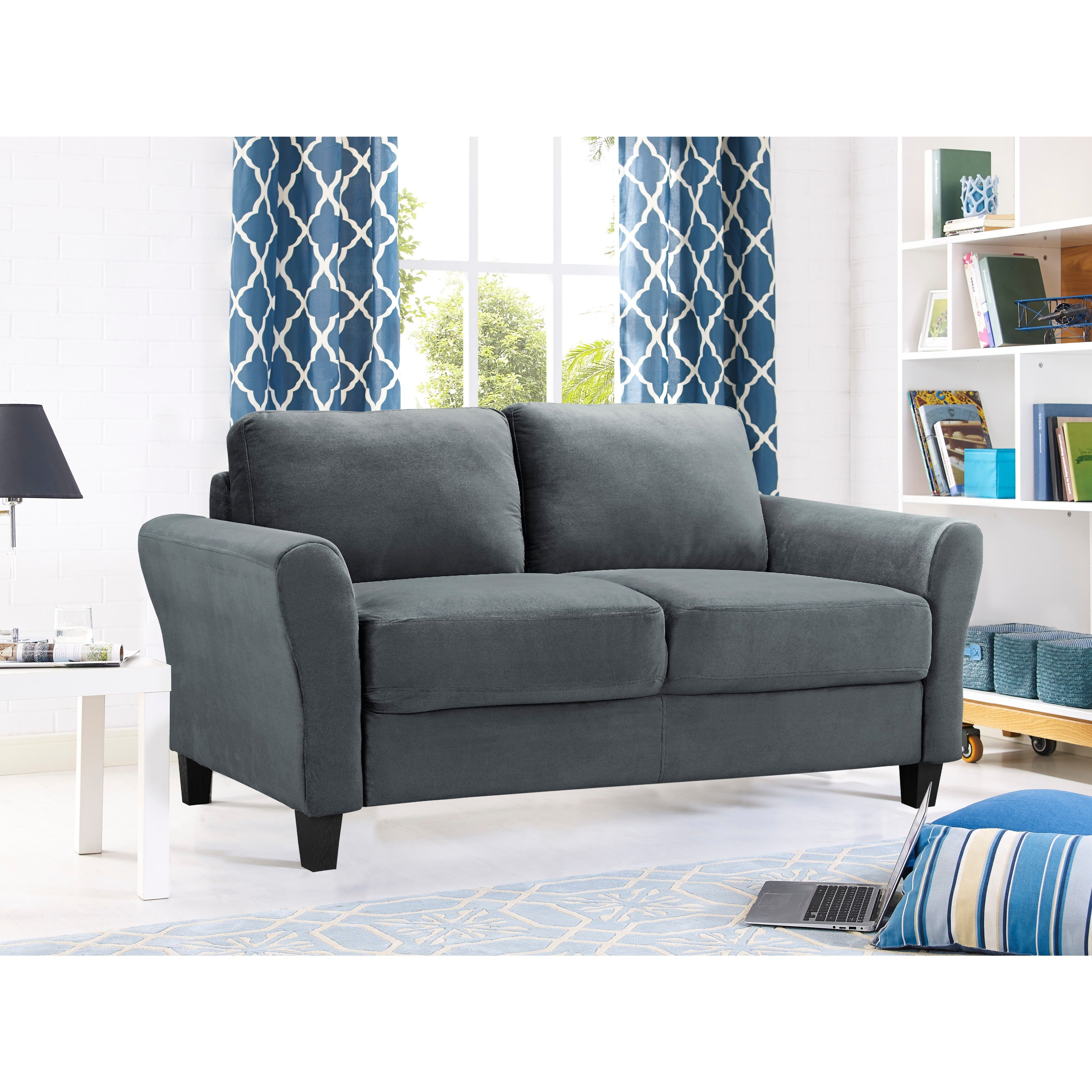 Lifestyle Solutions Waverly Contemporary Loveseat (2 options available)