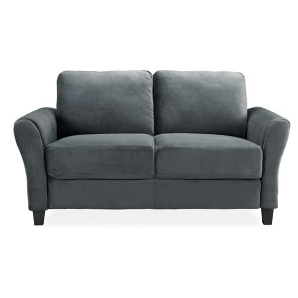 Surprising Shop Lifestyle Solutions Waverly Contemporary Loveseat On Andrewgaddart Wooden Chair Designs For Living Room Andrewgaddartcom