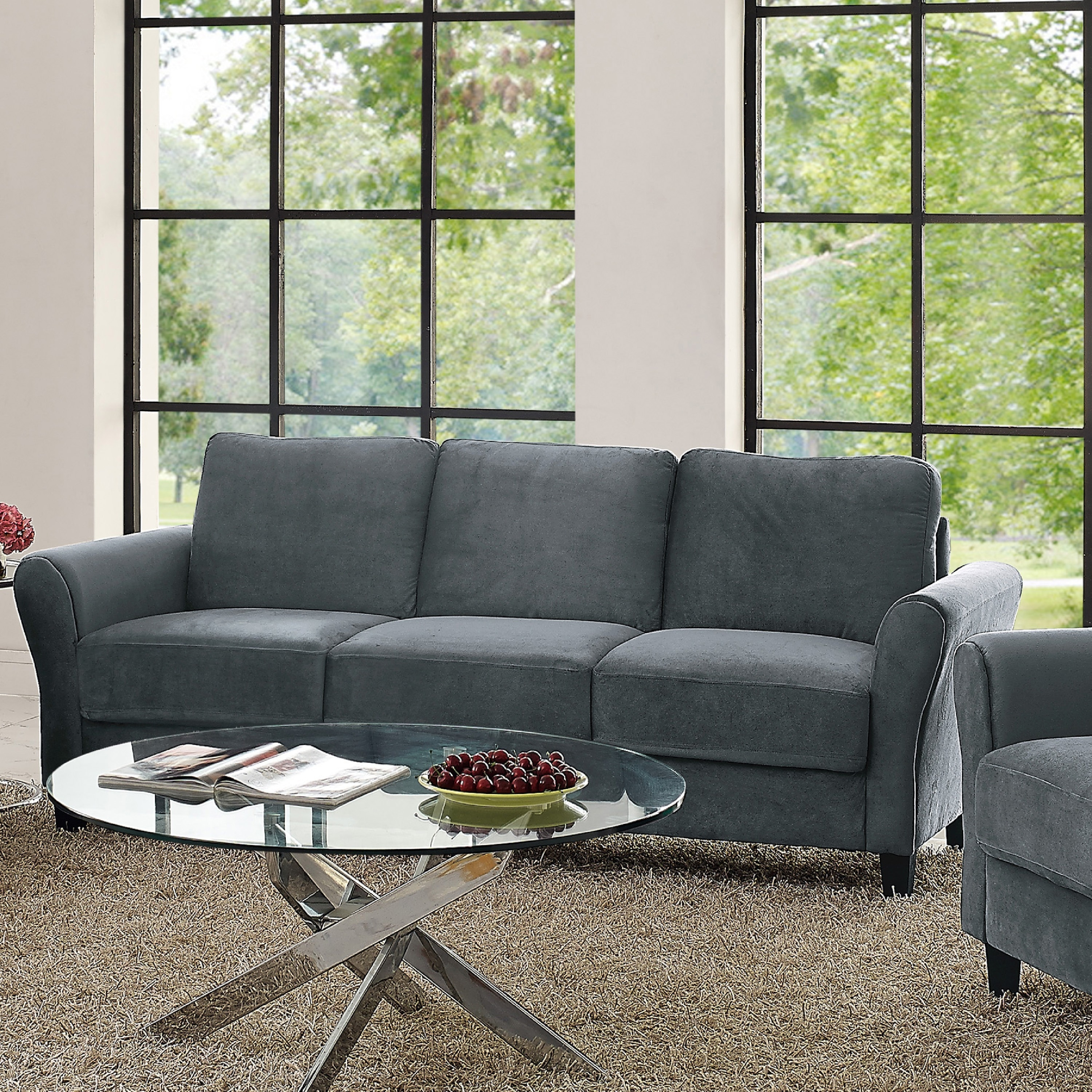 Lifestyle Solutions Waverly Sofa Free Shipping Today Overstock