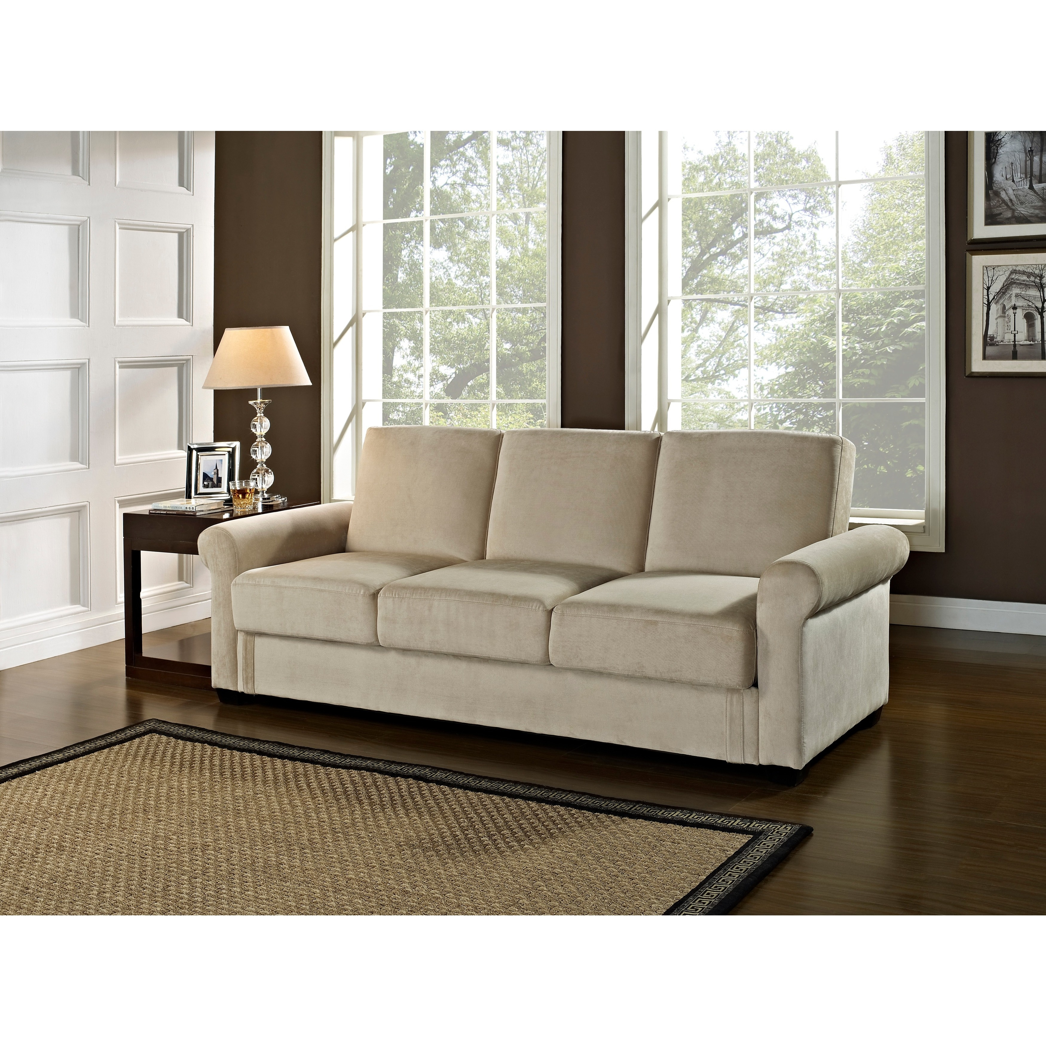Serta Toronto Convertible Sofa by Lifestyle Solutions (Li...