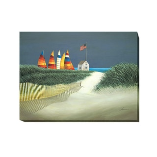 Summer Rentals by Lowell Herrero Gallery-Wrapped Canvas Giclee Art