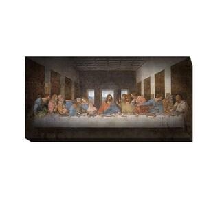The Last Supper by Leonardo da Vinci Gallery-Wrapped Canvas Giclee Art