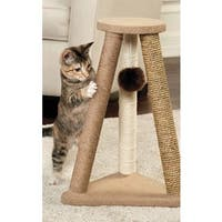 Animal Planet Cat Scratcher with Fur Toy