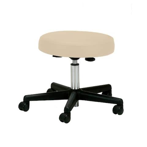 EarthLite Pneumatic Adjustable, Rolling Massage Therapist Stool