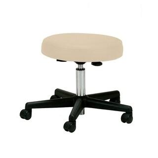 EARTHLITE Pneumatic Massage Therapist Stool - Adjustable, Rolling Massage Stool, No Leaking (vs. Hydraulic), CFC-Free