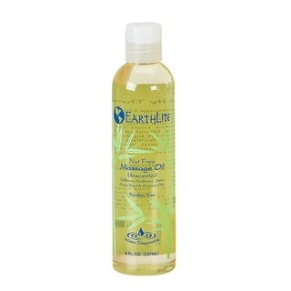 EARTHLITE Massage Oil Nut Free - Paraben Free, Silicone Free, Mineral Oil Free, Light & Smooth Massage Oil for all massages