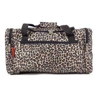 Argo Sport Leopard 20-inch Weekender Duffel Bag