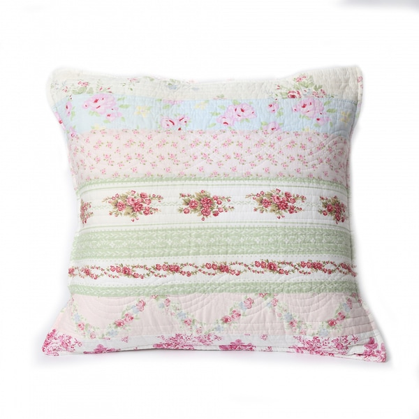 Wild Rose Enchantment 20-inch Throw Pillow