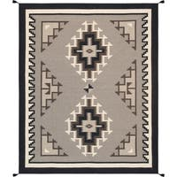 """Pasargad Multi Hand-Woven Wool Area Rug (7'11"""" X 10' 0"""")"""
