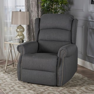 Dezzie Fabric Power Recliner by Christopher Knight Home