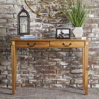 Celia Classic Acacia Wood Console Table by Christopher Knight Home
