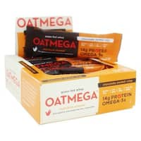 Oatmega Chocolate Peanut Crisp Bar (Box of 12)
