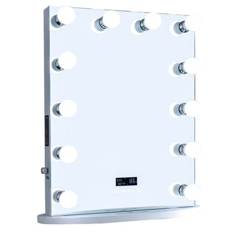 ReignCharm LED Hollywood Vanity Mirror with Bluetooth Speakers
