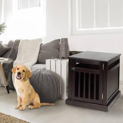 Chappy Espresso Pet Crate