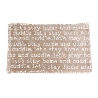 50x60 Cuddle Printed Flannel Fleece Pet Throw