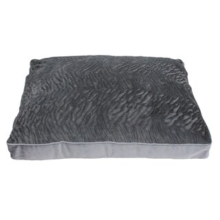 36x27 Wallace Brushed Faux Fur Dog Bed