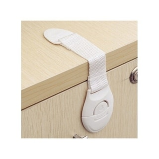 Link to 10pcs Portable Multi-functional Baby Infant Kids Adhesive Safety Locks - White Similar Items in Child Safety