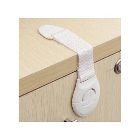 10pcs Portable Multi-functional Baby Infant Kids Adhesive Safety Locks - White