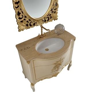 Eviva Monaco Gold 36-inch Bathroom Vanity Set
