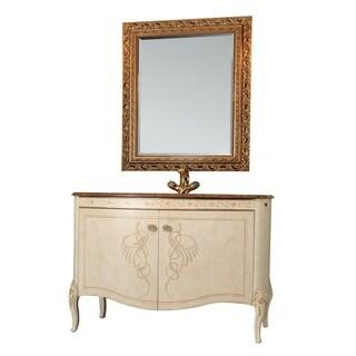 Eviva Heritage Gold 34-inch Bathroom Vanity Set