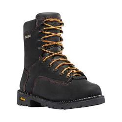 Men's Danner Gritstone 8in Alloy Toe Work Boot Black Full Grain Leather