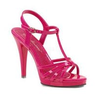 Women's Fabulicious Flair 420 Hot Pink Patent/Hot Pink