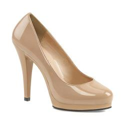 Women's Fabulicious Flair 480 Dude Patent/Nude