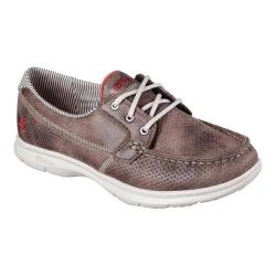 Women's Skechers GO STEP Shore Boat Shoe Brown