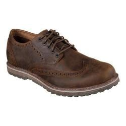 Men's Skechers Solent Alveno Wing Tip Blucher Brown
