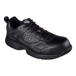 Men's Skechers Work Dighton Woodsboro Steel Toe Sneaker Black