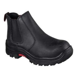 Men's Skechers Work Relaxed Fit Burgin Glennert Comp Toe Boot Black
