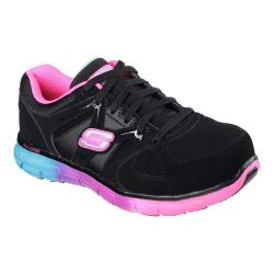 Women's Skechers Work Synergy Sandlot ST Black/Multi