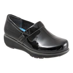 Women's SoftWalk Meredith Clog Black Patent Leather