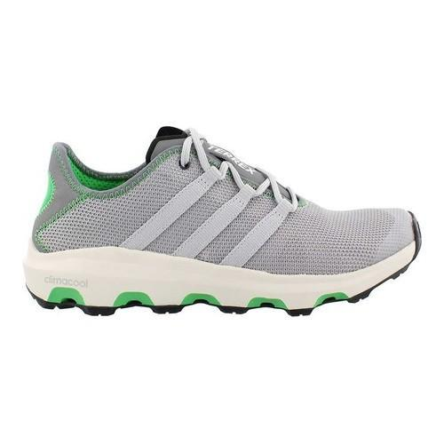 0e1e65bfd16a7c Shop Men s adidas Terrex Climacool Voyager Hiking Shoe Clear Onix Clear  Grey Energy Green - Free Shipping Today - Overstock.com - 14667297