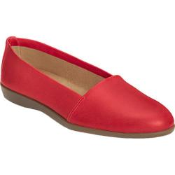 Women's Aerosoles Trend Setter Slip On Red Leather