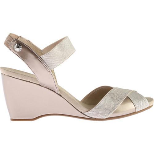 ... Women's Anne Klein Wilamina Slingback Sandal Light Gold Synthetic  ...
