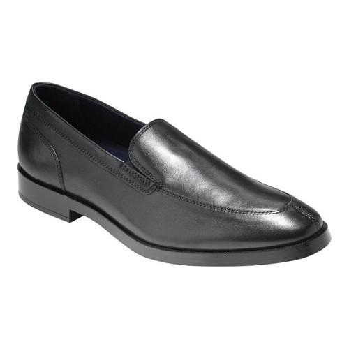 bb1357eace4 Shop Men s Cole Haan Jay Grand 2 Gore Loafer Black Leather - Free Shipping  Today - Overstock - 14667322