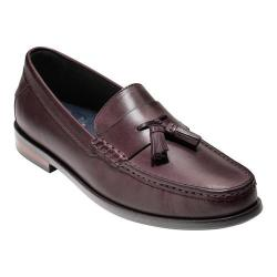 Men's Cole Haan Pinch Friday Tassel Contemporary Loafer Cordovan Hand Stain Leather